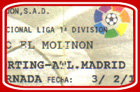 El Molinón, Sporting Gijón - At. Madrid, 1996